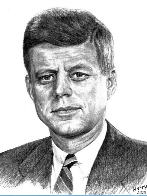 John F. Kennedy by HARRY